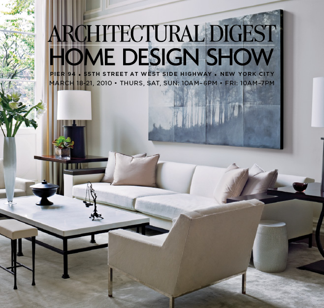 Architectural Digest Home Show Vicente Wolf