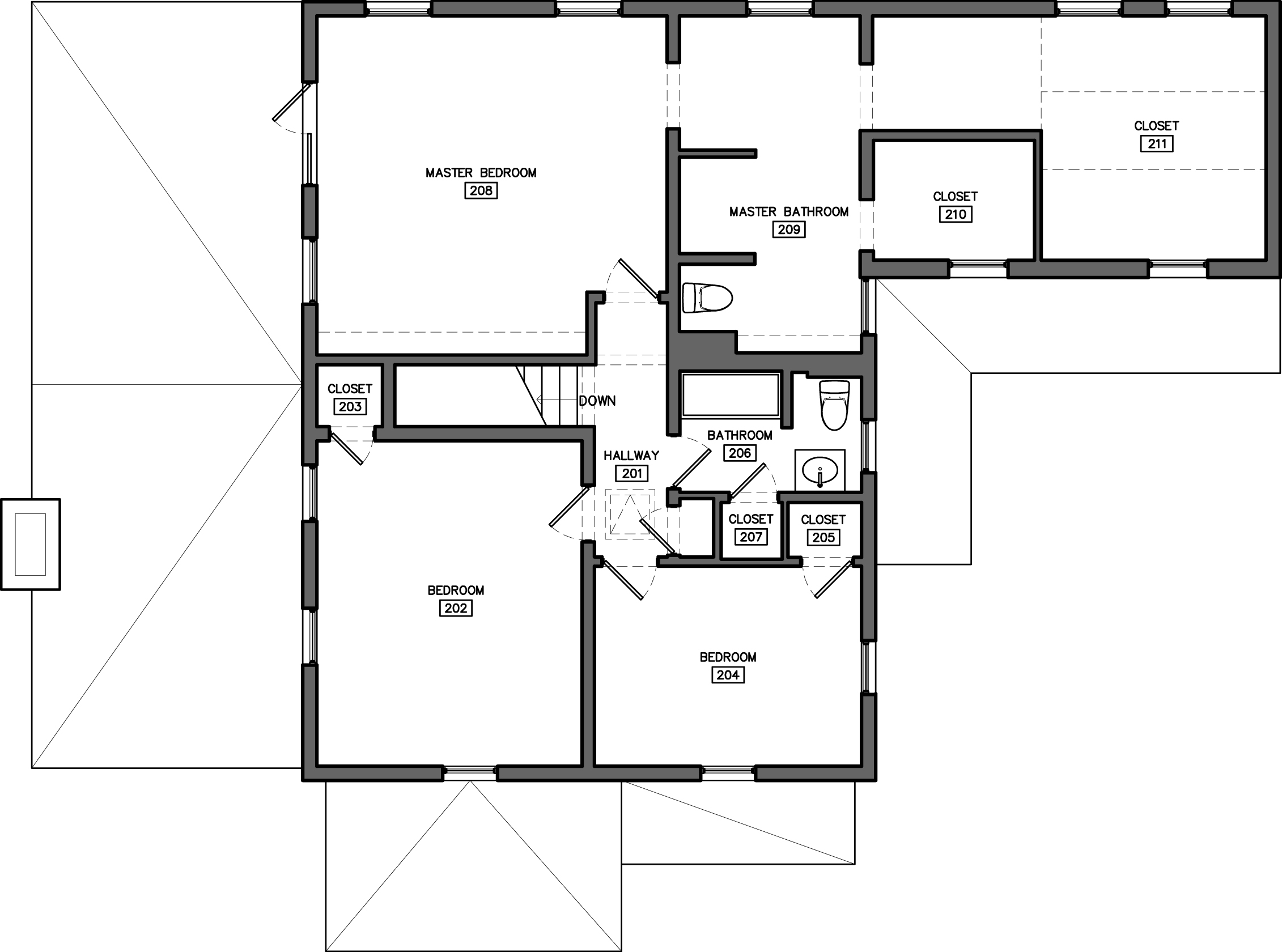 Floor plans for existing houses - House design plans