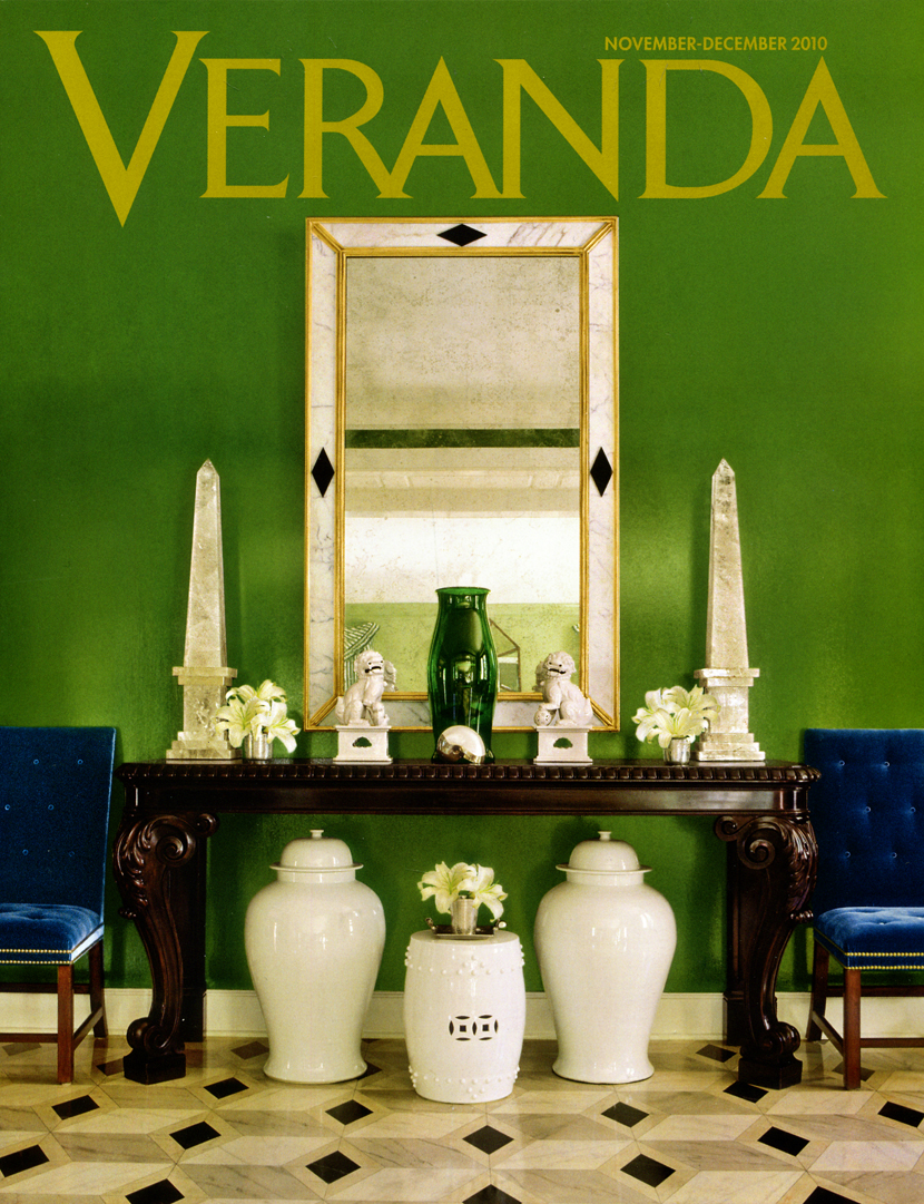veranda magazine vicente wolf. Black Bedroom Furniture Sets. Home Design Ideas