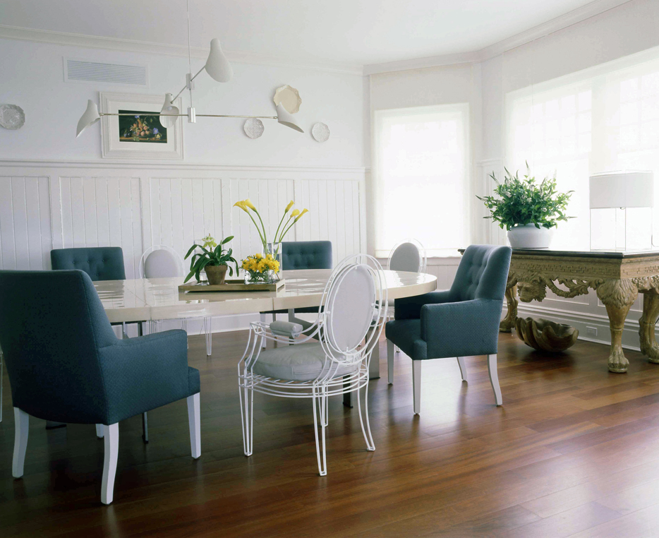 wsj the rules of mixing dining room chairs vicente wolf