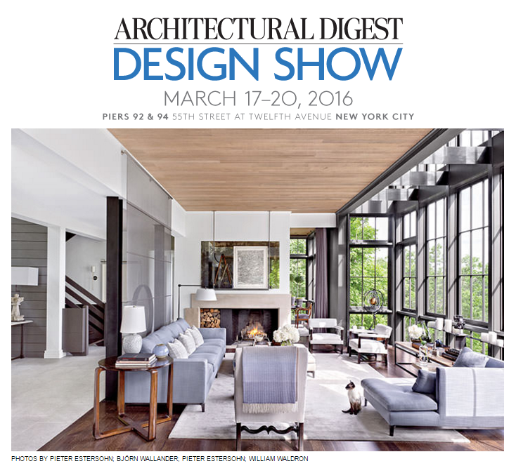 Blog vicente wolf part 16 for Architectural digest show